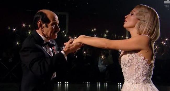 «Сегодняшний танец будет посвящен моей любимой женщине»: Григорий Чапкис  привел 38-летнюю любовницу на «Танцы со звездами»
