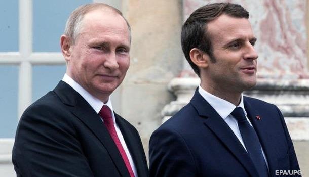 Президенты России и Франции обсудили проведение «нормандской встречи»