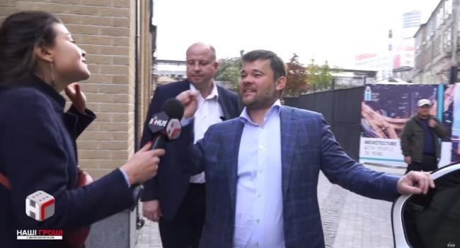 «Це не зовсім законно»: Богдан відмовився відповісти на питання журналістки про свою охорону