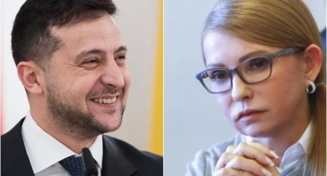 «Полгода уже как президент»: Эксперт прокомментировал общение Зеленского с Тимошенко