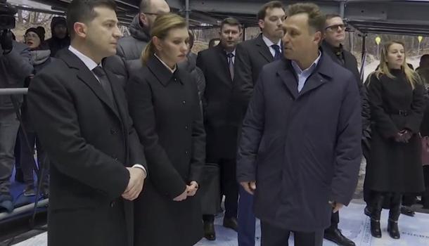 Зеленские сегодня почтили память жертв Евромайдана