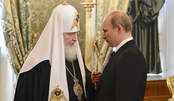 «Спасибо за службу, агент Гундяев»: Путин отличился выходкой, поздравив предстоятеля РПЦ