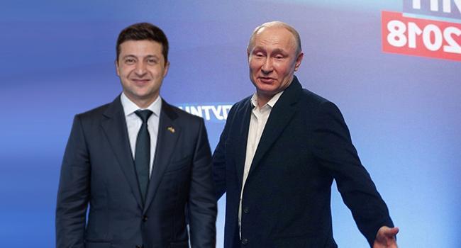 «Воспринимает, как актера «Квартала-95»»: стало известно об отношении Путина к Зеленскому