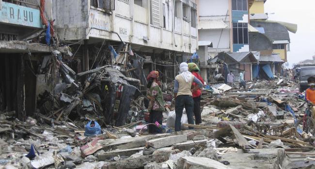 Индонезию сотрясло мощное землетрясение