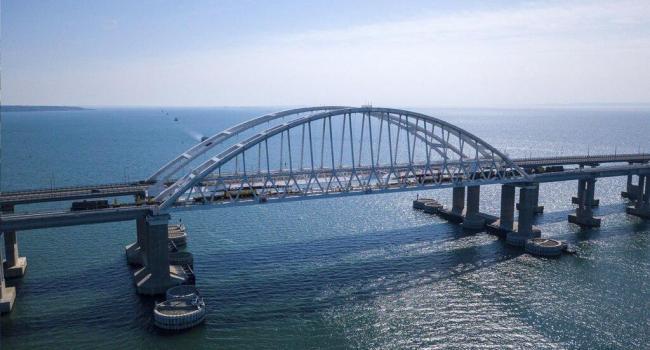 В РФ сообщили, что они изучают возможность запуска электропоездов по Крымскому мосту за счет государственно-частного партнерства