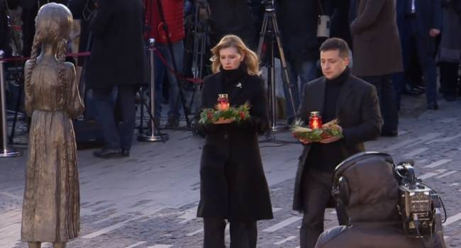 Зеленский на акции памяти жертв Голодомора: «Мы никогда этого не забудем и не простим»