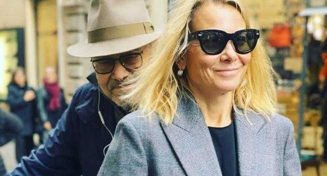 Юлия Высоцкая не скрывает нежностей, когда дело касается мужа