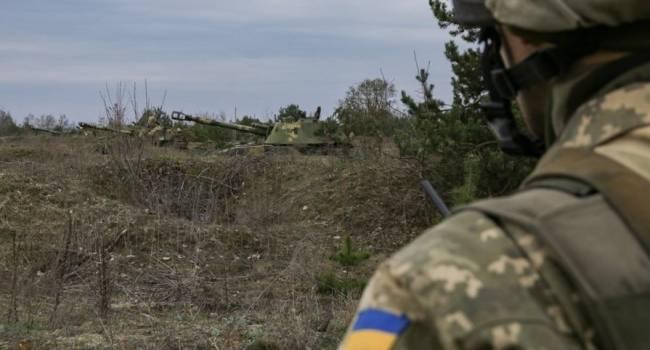 В штабе ООС рассказали о потерях ВСУ из-за обстрелов на Донбассе
