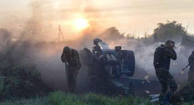 Боевики накрыли Водяное шквальным огнем из минометов