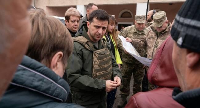 «Путін, Меркель і Макрон, не давайте йому грошей!»: Скубченко прокоментував рішення Зеленського попросити грошей на відновлення Донбасу