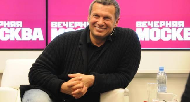 «Це не президент, а завгосп»: Соловйов розкритикував Зеленського через повернення українських кораблів