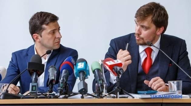 «Решите очень быстро этот вопрос»: Зеленский набросился на Гончарука, потребовав погасить задолженность перед учителями и медиками