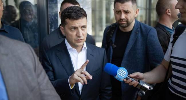 Зеленский провел переговоры с Путиным в тот самый день, как Яценюк дал команду отказаться от закупок газа в РФ