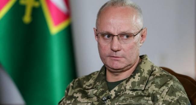 Говоря о российском вторжении Хомчак, завуалировано намекнул, что «ихтамнет»