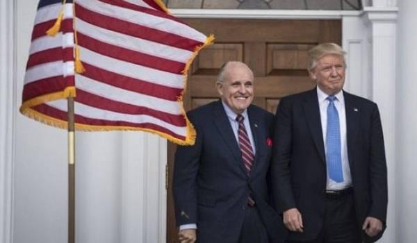 Трамп заявляет, что не отправлял в Украину Джулиани по делу Байдена