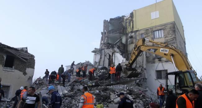 Число погибших в результате землетрясения в Албании превысило 40 человек