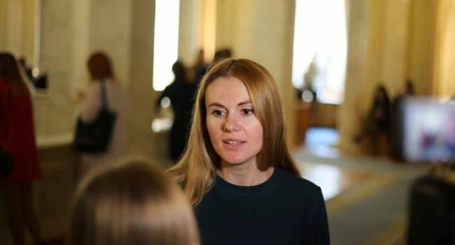 «Есть общий чат, куда пишут, как за какой закон голосовать»: Скороход рассказала об угрозах в партии «Слуга народа»