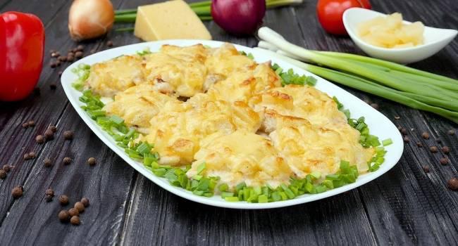 Вкуснейшие деликатесы: Ароматная курочка с ананасами