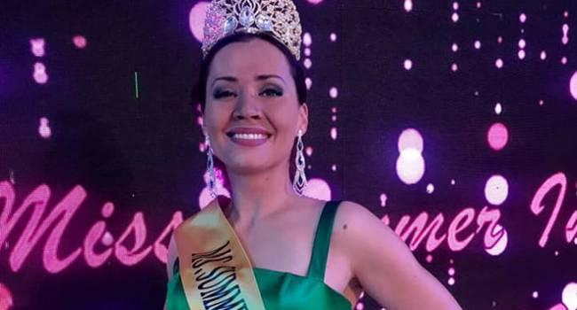 Украинка стала победительницей конкурса красоты