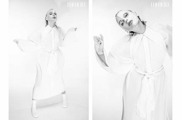 Ирена Карпа снялась в экстравагантной фотосессии для украинского L'Officiel