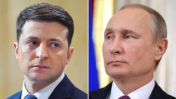 Песков подтвердил личную встречу Зеленского и Путина в Париже