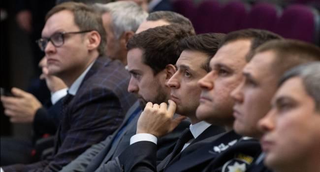 Положий об участии Зеленского в брифинге Авакова: беспрецедентная манипуляция – расчет на слепую веру в царя