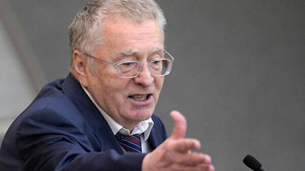 СБУ открыла дело в отношении одиозного Жириновского