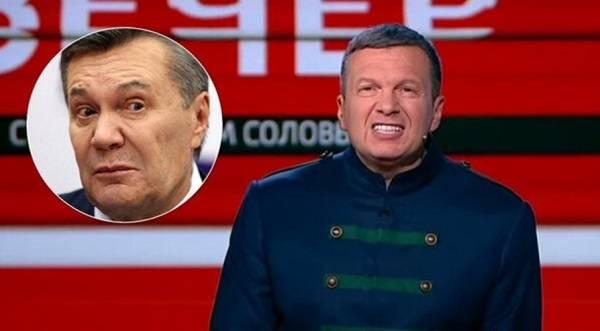 «Посадим Януковича и Азарова»: Соловьев отличился бредовой идеей о новой встрече в «нормандском формате»