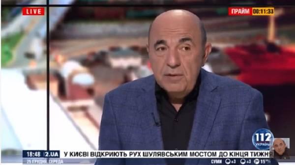 «Зачем всю эту показуху устраивать?»: соратник Медведчука Рабинович раскритиковал языковый закон
