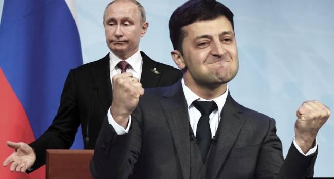 В России рассказали о вероятности встречи Путина и Зеленского в Париже