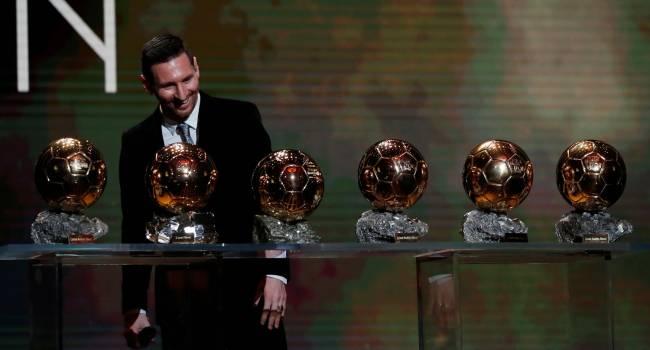 «Шестой титул в карьере»: Обладателем «Золотого мяча» от France Football снова стал Лионель Месси