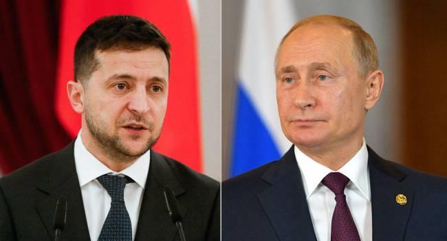 «Результат этой встречи предрешен»: Залмаев назвал встречу Путина и Зеленского «битвой КГБ и КВН»