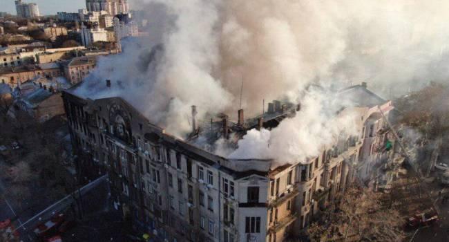 «До сих пор проводятся работы по ликвидации пожара»: стали известны новые подробности ЧП в Одесском колледже