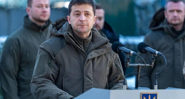 «С боевиками президент не разговаривает»: Зеленский заявил, что не собирается вести переговоры с представителями самопровозглашенных республик