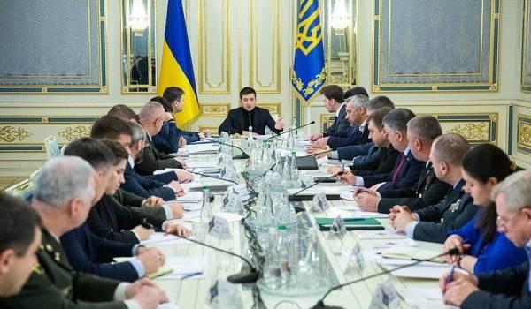На заседании СНБО утвердили главный сценарий для Донбасса