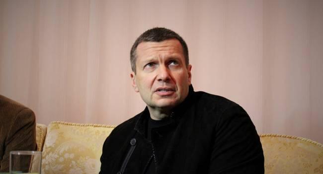 «Так глубокомысленно нести чушь»: Соловьев напомнил Киеву о предостережениях Путина