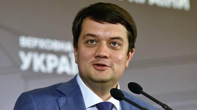 «Территории будут возвращены»: Разумков дал громкое обещание по «нормандскому саммиту»