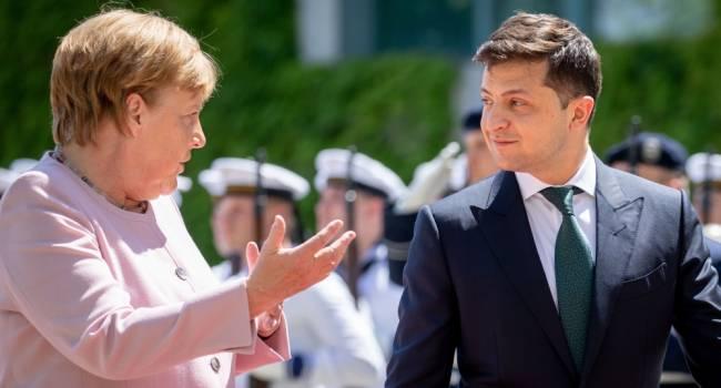 Просьба Порошенко будет выполнена: Меркель будет настаивать на отдельной встрече с Зеленским тет-а-тет