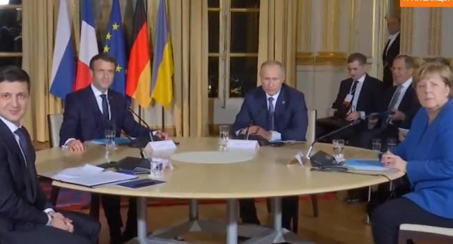 Саммит «Нормандской четверки» в Париже завершился: Началась встреча Путина и Зеленского – СМИ