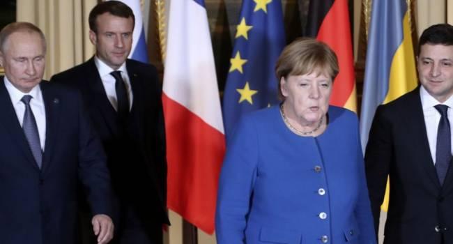 «Продолжение следует»: Саммит в Париже прервали специально для диалога между Путиным и Зеленским