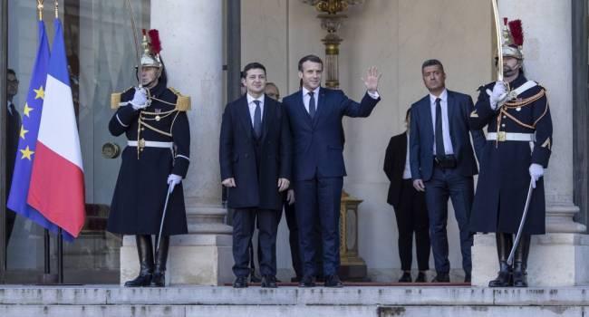 Западная пресса на переговорах в Париже называет Зеленского «новичком», «политиком с мизерным опытом», «вчерашним комическим актером»