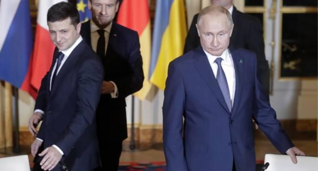 Горбач: мы наблюдаем за двусторонними российско-украинскими переговорами, закамуфлированными под «нормандский формат»