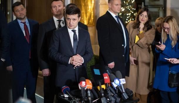 «Мы к этому не дошли»: Зеленский рассказал, почему вопрос Крыма не подняли на нормандском саммите