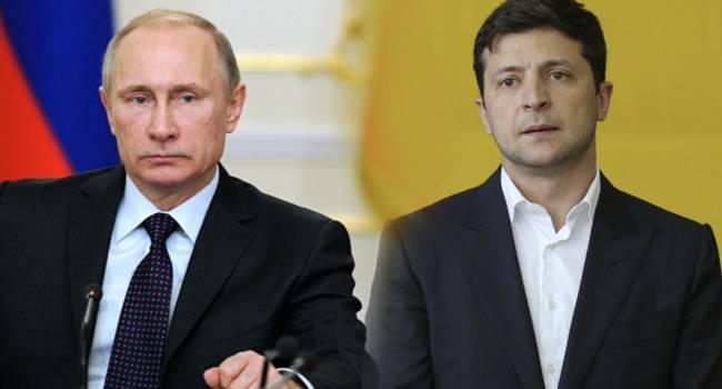Зеленский заявил, что пытался не злить Путина во время «Нормандского саммита»