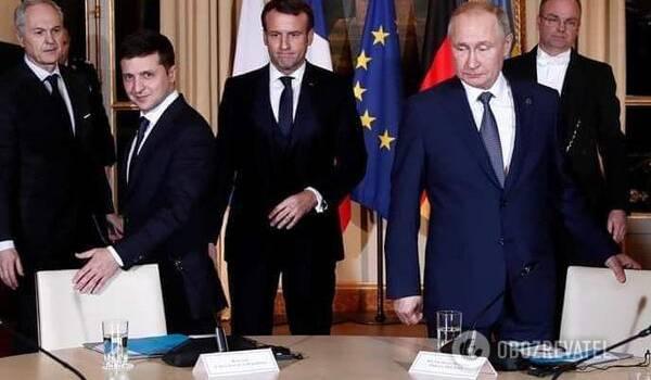 «Встреча двух дилеров»: российские СМИ жестко сконфузились из-за Зеленского и Путина