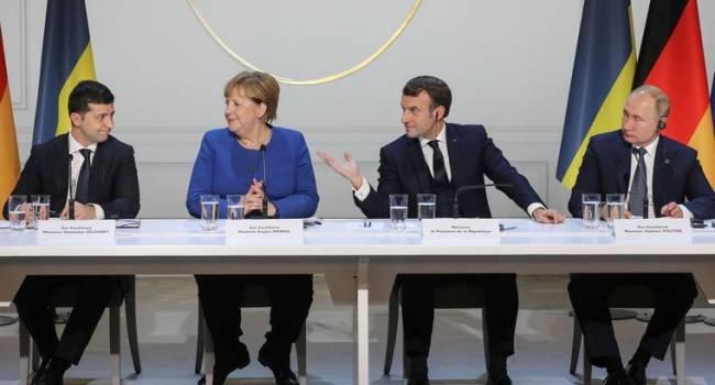 «Формулу Штайнмайера никто выполнять не собирается»: Общественный деятель прокомментировал итоги нормандского саммита