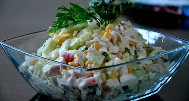 Идеально для фигуры: диетический салат на Новый год