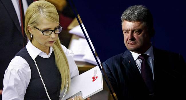 «За сдачу национальных интересов»: Гужва допускает, что Порошенко могут отправить за решетку примерно по такому же сценарию, как и Тимошенко