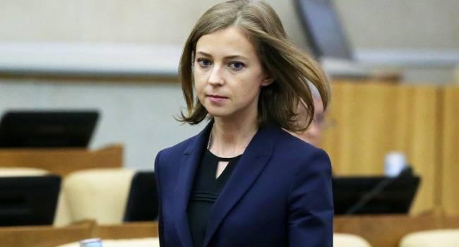 «Я могла бы взять автоматы в руки»: Поклонская рассказала, как хотела защищать Крым