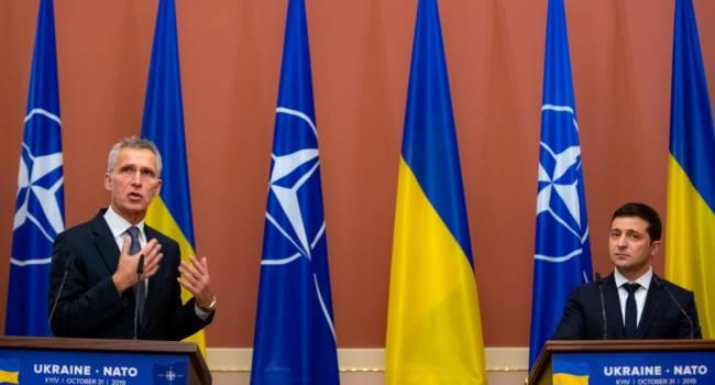 НАТО: Мы повторно призываем Кремль вывести войска с Донбасса